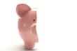 One part of piggy bank broken