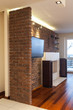 Spacious apartment - Stone wall