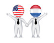 US-Dutch cooperation concept.