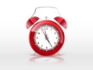 alarm red