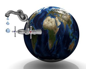 Запасы пресной воды на земной шаре. Концепция
