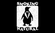 Penguin Smoking Natural