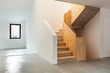 interior modern house, staircase, empty home