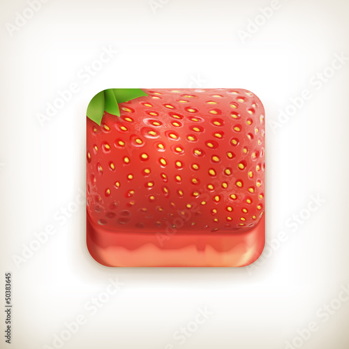 Strawberry app icon