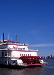 Paddle steamer, New Orleans, USA © Arena Photo UK
