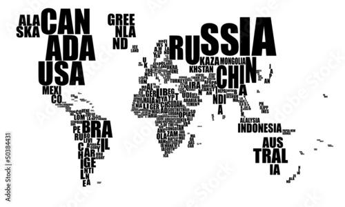nazwy-panstw-jako-mapa-swiata