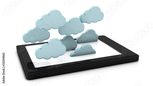3d clouds in tablet pc