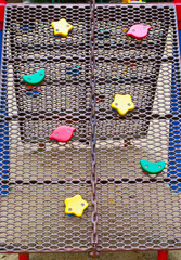 rope on playground equipment