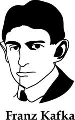 Franz Kafka (vector)