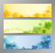 Abstract Flower Background / Brochure Template / Banner
