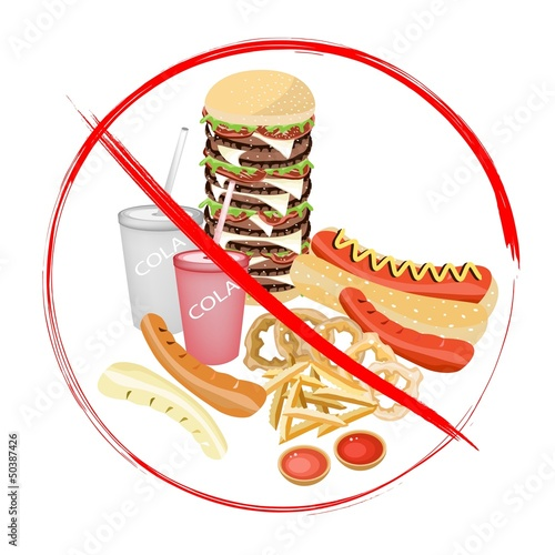 On Eat Carbonated Drinks and Fast Food