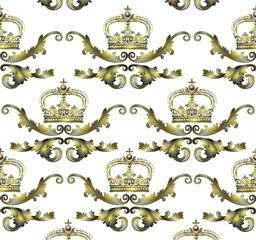Kronenornament