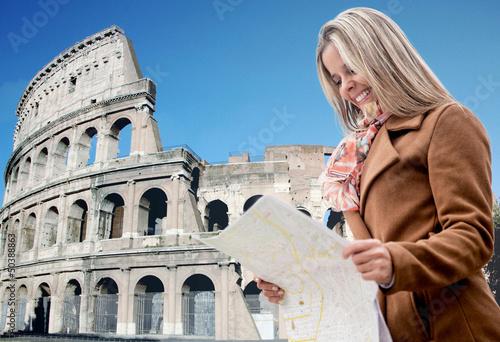 Tourist in Rome