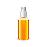 Bottle With Spray Orange Yellow: Raster Version