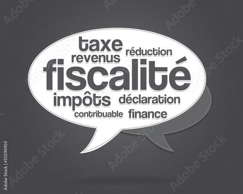 nuage de mots - impôts