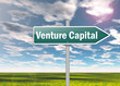 "Signpost ""Venture Capital"""