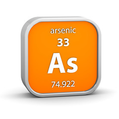 Arsenic material sign