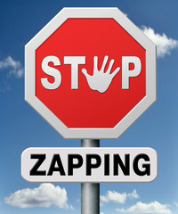 stop zapping