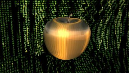 Power Cyber Apple Ripple Shockwave Cyberspace