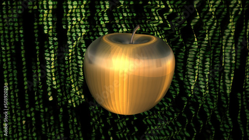 Power Cyber Apple Ripple Shockwave Cyberspace