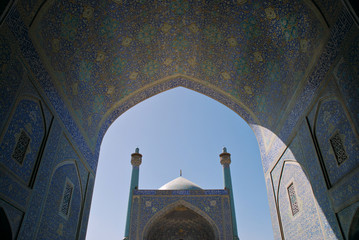 Shah (Imam) Mosque in Isfahan, Iran