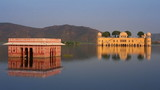 jal mahal - palace on lake in Jaipur India