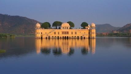 jal mahal - palace on lake in Jaipur India