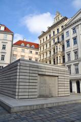 Holocaust Denkmal am Judenplatz in Wien