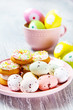 Tiny Easter eggs and cookies