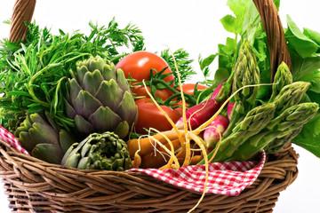 Panier de legumes