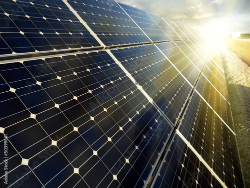 Power plant using renewable solar energy - 50399861