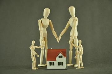 Domi rodzina-symbol