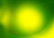 vivid green graphic backdrop