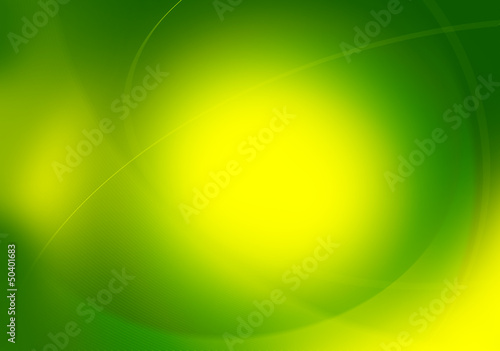vivid green graphic backdrop