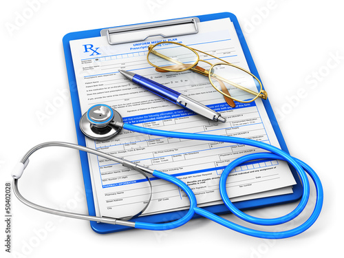 Medical insurance and healthcare concept