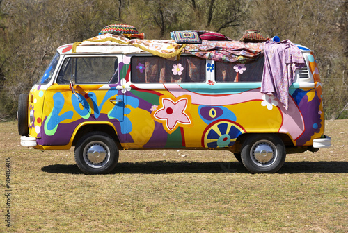 Hippie van - 50402405