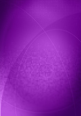 purple digital graphics
