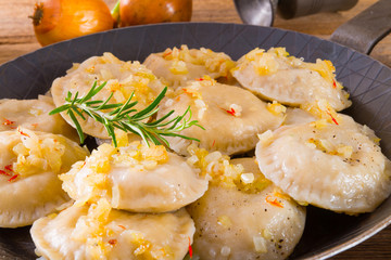 pierogi with meat