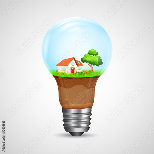 House inside Bulb