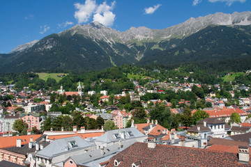 Innsbruck and the Nordkette