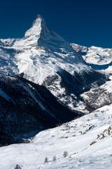 Matterhorn peak. Zermatt, Switzerland