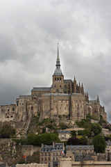 Mont Saint Michel abbey, Normandy, France