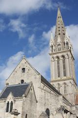 Cathedral in Saint-Aubin-Sur-Mer, Normandy