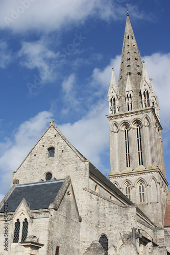 Cathedral in Saint-Aubin-Sur-Mer, Normandy