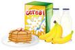 Full breakfast meal