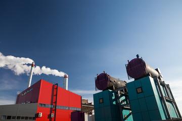 Renewable energy power plant
