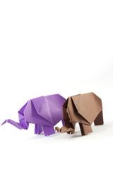 Elefanten Origami 2