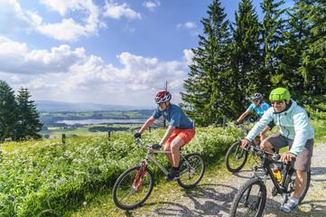 gemeinsame Radtour