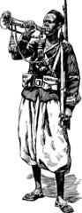 soldier trumpeter