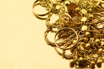 Mixed Gold Jewelry